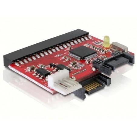 """40 Pins (3½"""") IDE til SATA konverter, Tilslut SATA HDD til ældre PCér"""