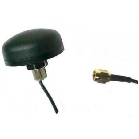 2 dBi GSM vandalsikker rundstråle antenne, 1,5m kabel med SMA han