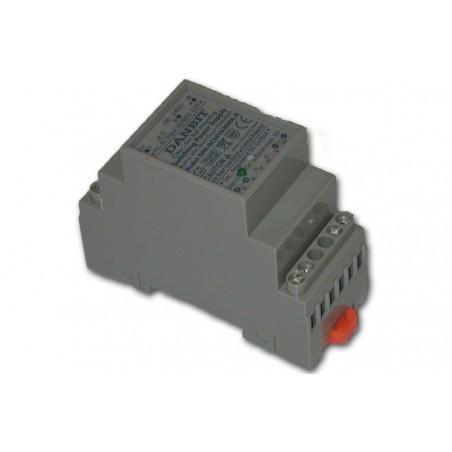 24V/0,4A strømforsyning, DIN-skinne