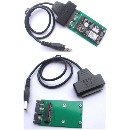Micro SATA adapter til USB