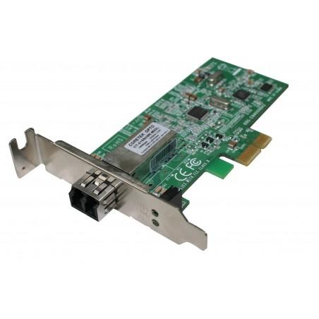 Netkort Fiber 100Mbit, MM, LC, PCIe, L profile