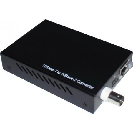 Ethernet (RJ45) til BNC konverter, 10Base