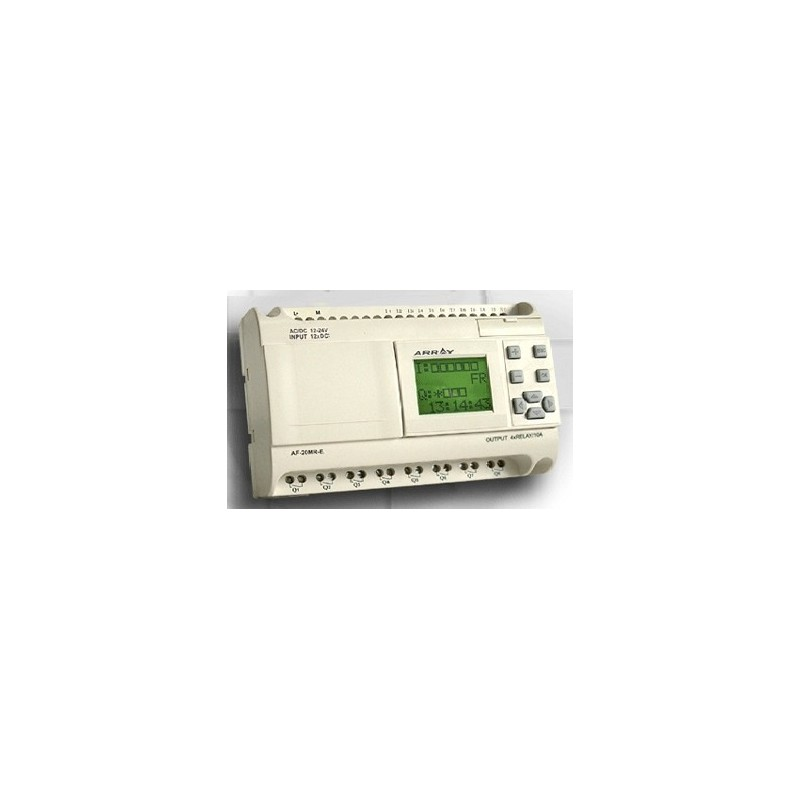 Programmerbare mini-PLC for DIN-skinne