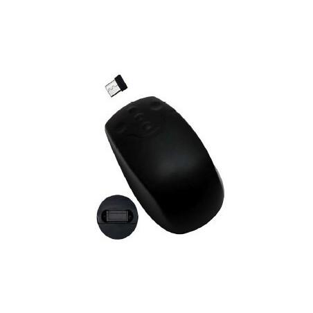 Trådløs IP68 tæt mus, sort - RF (USB dongle)