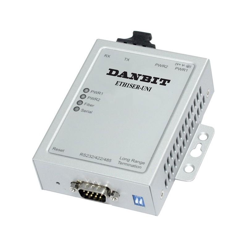 Serieport t.100Base-FX,singlem