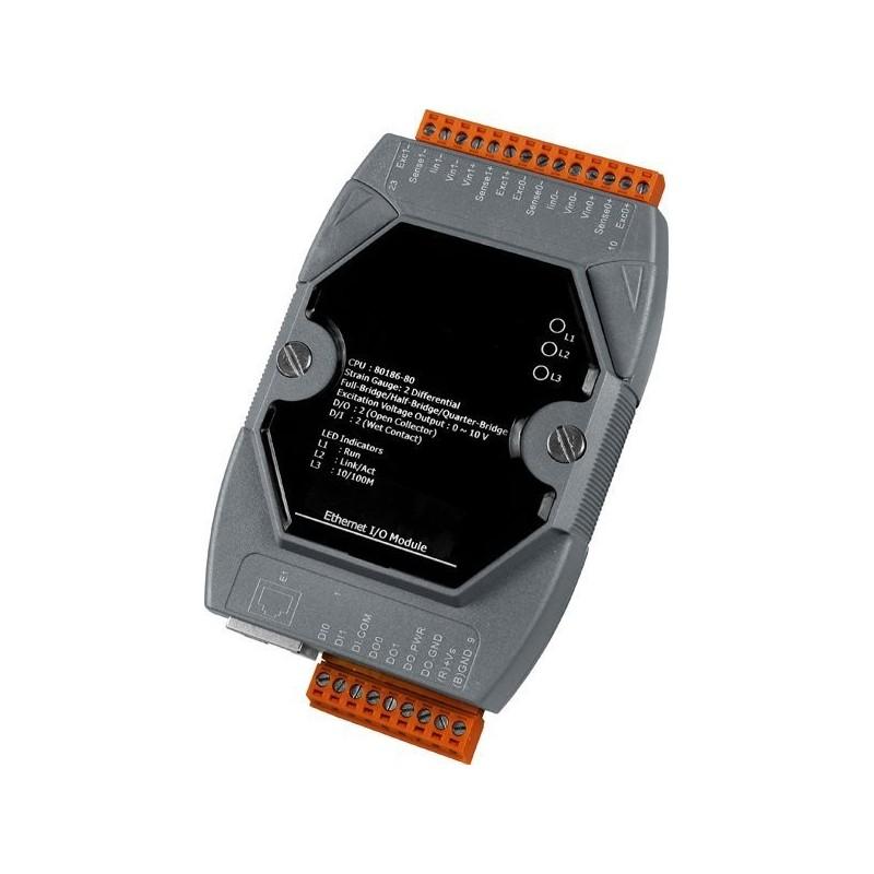 Ethernet IO med isolerede IO kanaler