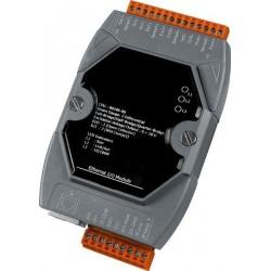 7 x indgange til termoføler (differential), pt100, Ni, Balco, til LAN, 10-30VDC
