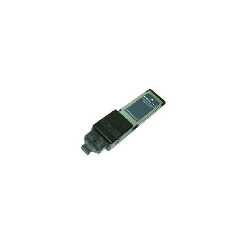ExpressCard med fiber Ethernet. 1 x 1000 Mbit netkort til fiber SC stik