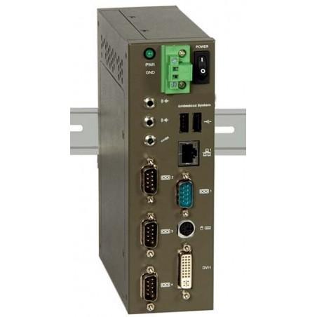 Blæserløs Mini PC m/1.6GHz ATOM CPU