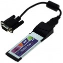 ExpressCard med 1 seriel port