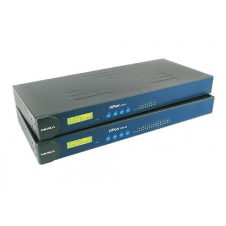 16 ports Moxa NPort 5650-16, serielportserver