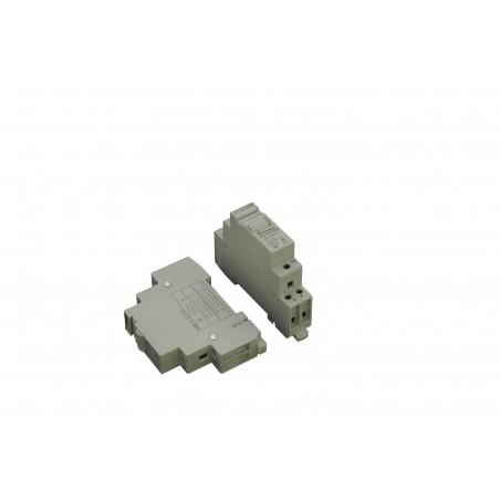 12 volt relæ til 250 VAC til DIN skinne