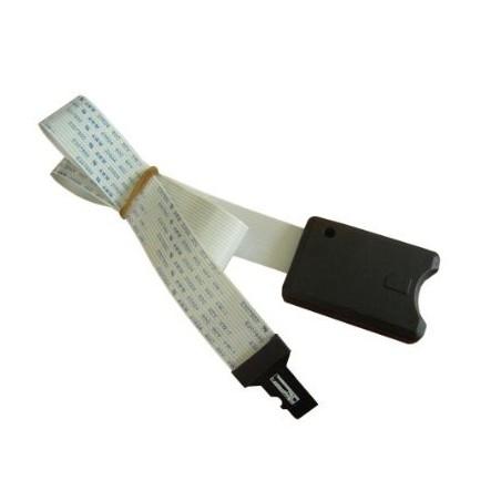 Kabel MicroSD han til SD hun 48cm langt fladkabel