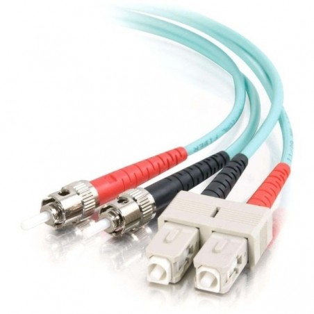 Fiber optisk LSZH kabel - SC/ST 50/125 μm OM3 - multimode 10 m