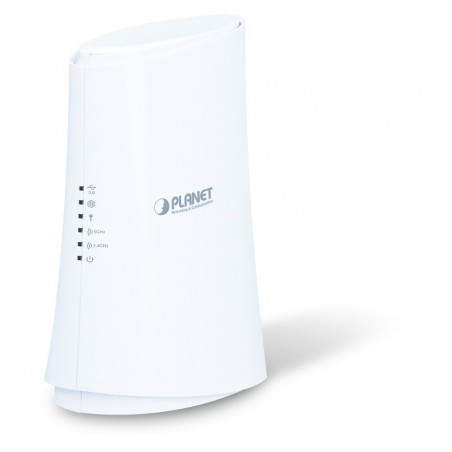 867Mbit Dual Band WiFi Router med 4 Gigabit LAN og USB