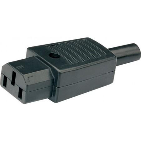 IEC strømstik C15, 3P 230V hun Eurostik