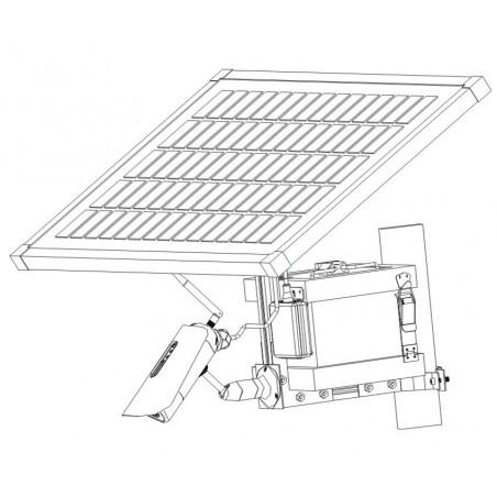 Kamera med 3G og solpanel