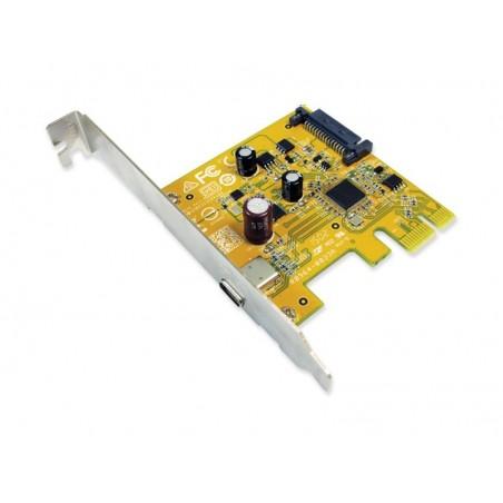PCI express kort til USB 3.1C med kabel