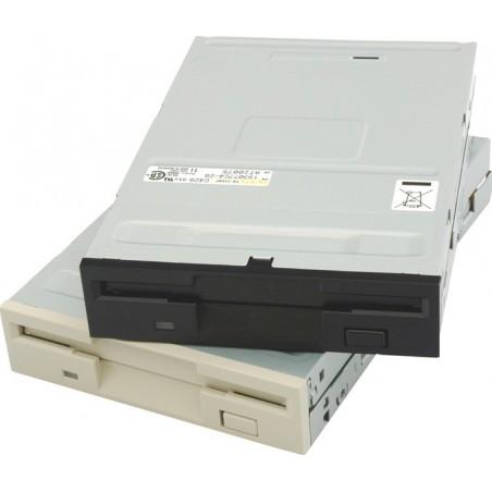 """Floppy disk drev 3½"""" 720K/1,44Mb, Hvid diskette drev TEAC FD235HFC810"""