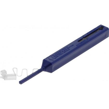 Fiberstikrenser. Renser fiberstik/adapter for støv og snavs inden brug