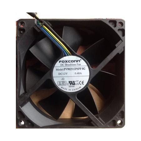12V DC blæser 90 x 90 mm med 4 pins kabel, 0.4A