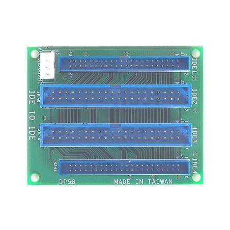 "Adapter-print til 3½"" og 2½"" sammenkobling - IDE til IDE"