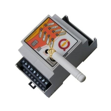 Temperatur, måling og styring via GSM med indbygget batteri backup, op til 8 temperaturfølere