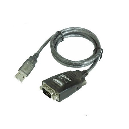 USB til 1 x RS232 konverter til 7/8bit med 1,8 m kabel