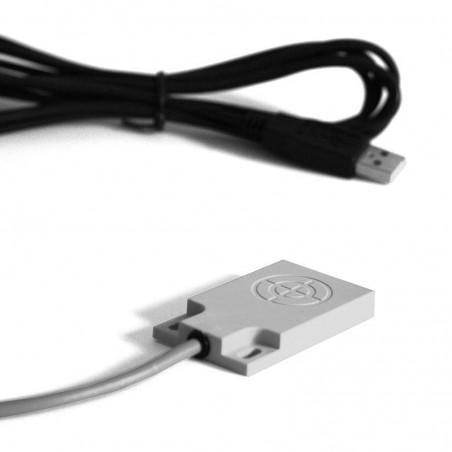 IP tæt USB fodkontakt/ berørings sensor med 4m kabel