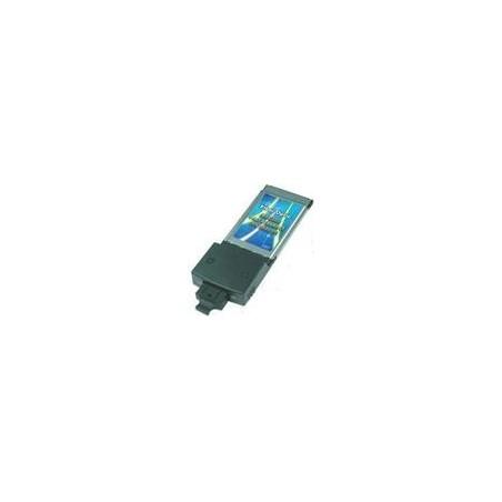 Restlager 100Mbit PCMCIA netkort til SC fiber. CardBus 100Base-FX Fiber PC NIC