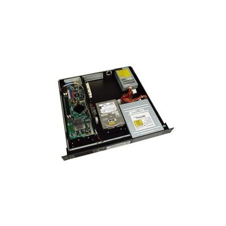 """Restsalg: Sort 19"""" 1U kabinet m.LCD"""