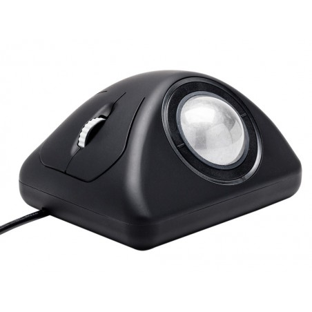 Ergonomisk IP68 tæt USB mus m/trackball, ekstrem robust