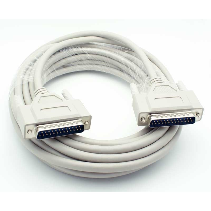 DB25 kabel, han-han, 1,8M