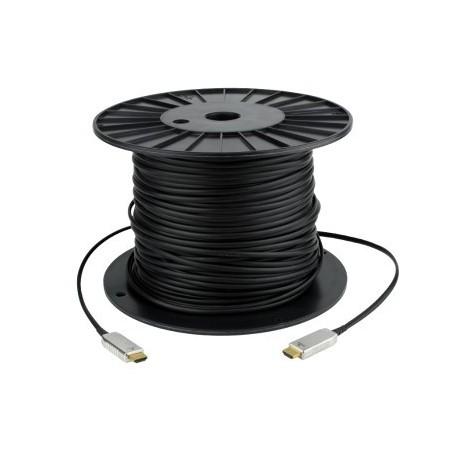 HDMI 1.4 Hybrid kabel. HDMI han - HDMI han sort, 20 meter