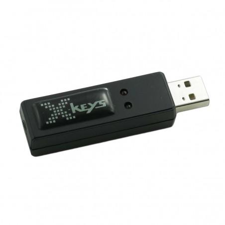 3 kontakter med indgange via USB