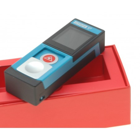Trådløs afstandsmåler med lasersigte i lommeformat som rækker op til 40 meter