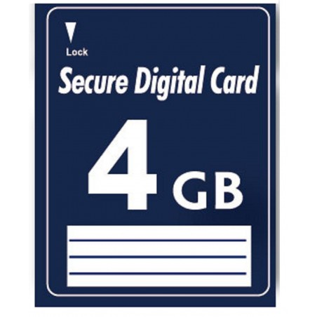 4GB SD Secure Digital Memory card