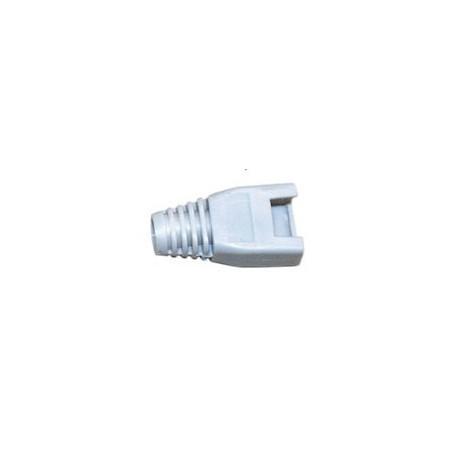 Grå isoleringstyller til RJ-45 (UTP) modularstik