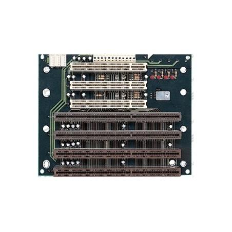 Backplane, PISA buskort 4 x PCIA og 3 x PCI