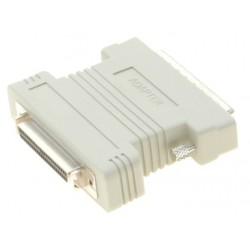 Wide SCSI konverterstik, mini DB50 hun-mini DB68 han