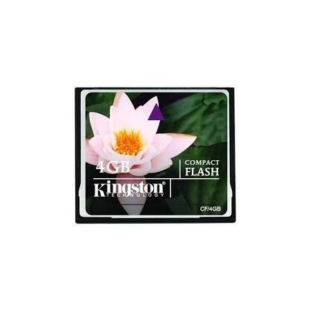 4GB UDMA Kingston Compact Flash kort