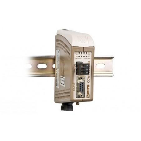 RS232 til Fiber konverter, slot til SFP modul, egnet til point to point, op til 120km
