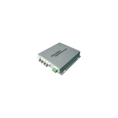 "Video signal over fiber kabel til 4 videosignaler ""KAM BOOST 4XVIDEO via lysleder"""