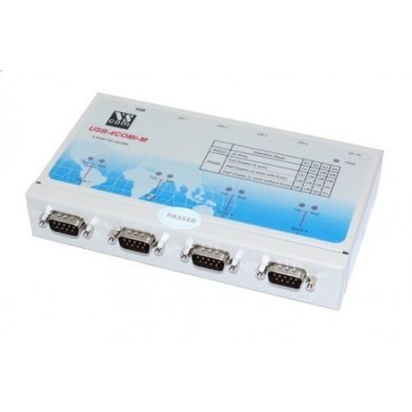 USB til 4 x RS422/485 porte
