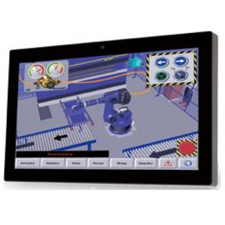 """15.6"""" Panel PC i3 2.4GHz CPU, Wide screen, Touch, 4GB RAM"""