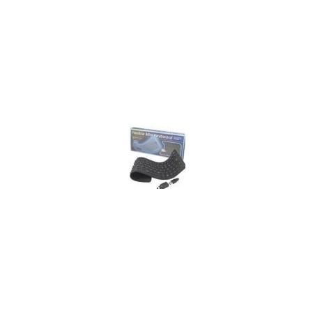 Restlager: stænktæt keyboard, USB, norsk tegnsæt