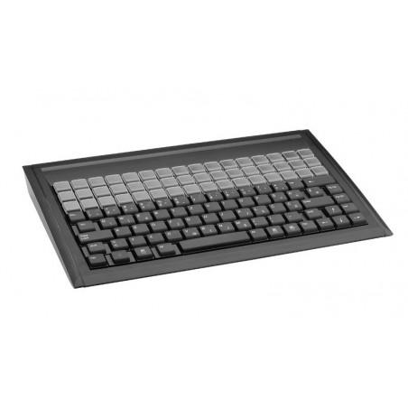 128 key POS tastatur QWERTY, 48 programmerbare, DK layout, USB