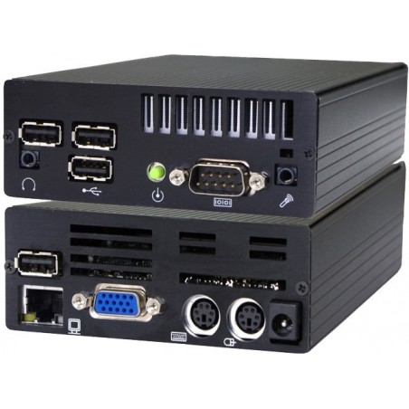 Mini IPC med ATOM Dual Core, 2GB RAM, 2xRS232