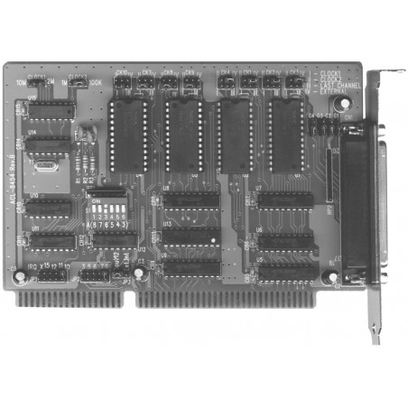 Adlink ACL-8454/12. 8 kanalers 16 bit tæller, 2 kanalers 32 bit tæller