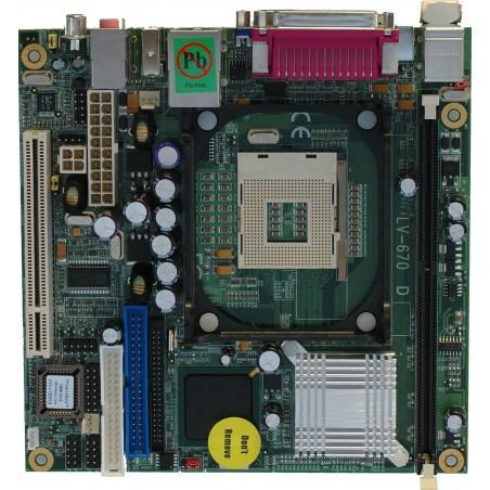 Restlager: ITX bundkort til P4,